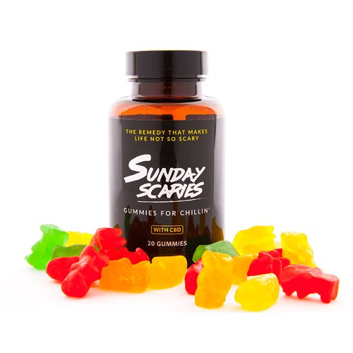 sunday scaries gummies for chillin